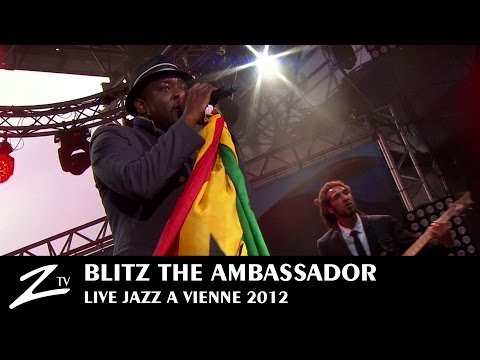 "Blitz the Ambassador ""Something to believe"" feat Sandra Nkake - Jazz à Vienne 2012 (part 2/2)"