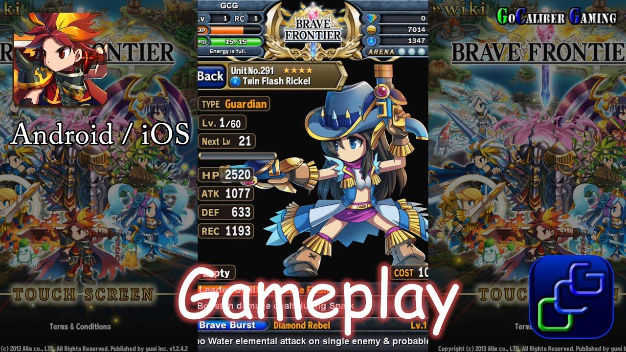 Brave Frontier gameplay