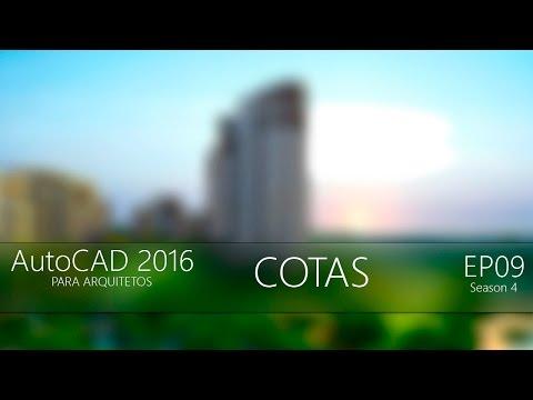 AutoCAD 2016: Planta Baixa - Cotas [EP 09]
