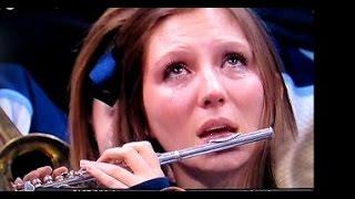 Crying Piccolo Girl Of The Villanova Band