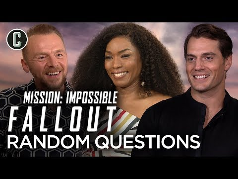 Watch the Mission: Impossible - Fallout Cast Play Random Questions