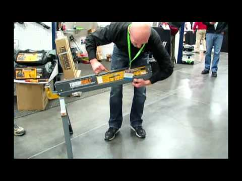 Toughbuilt Folding Sawhorses Youtube