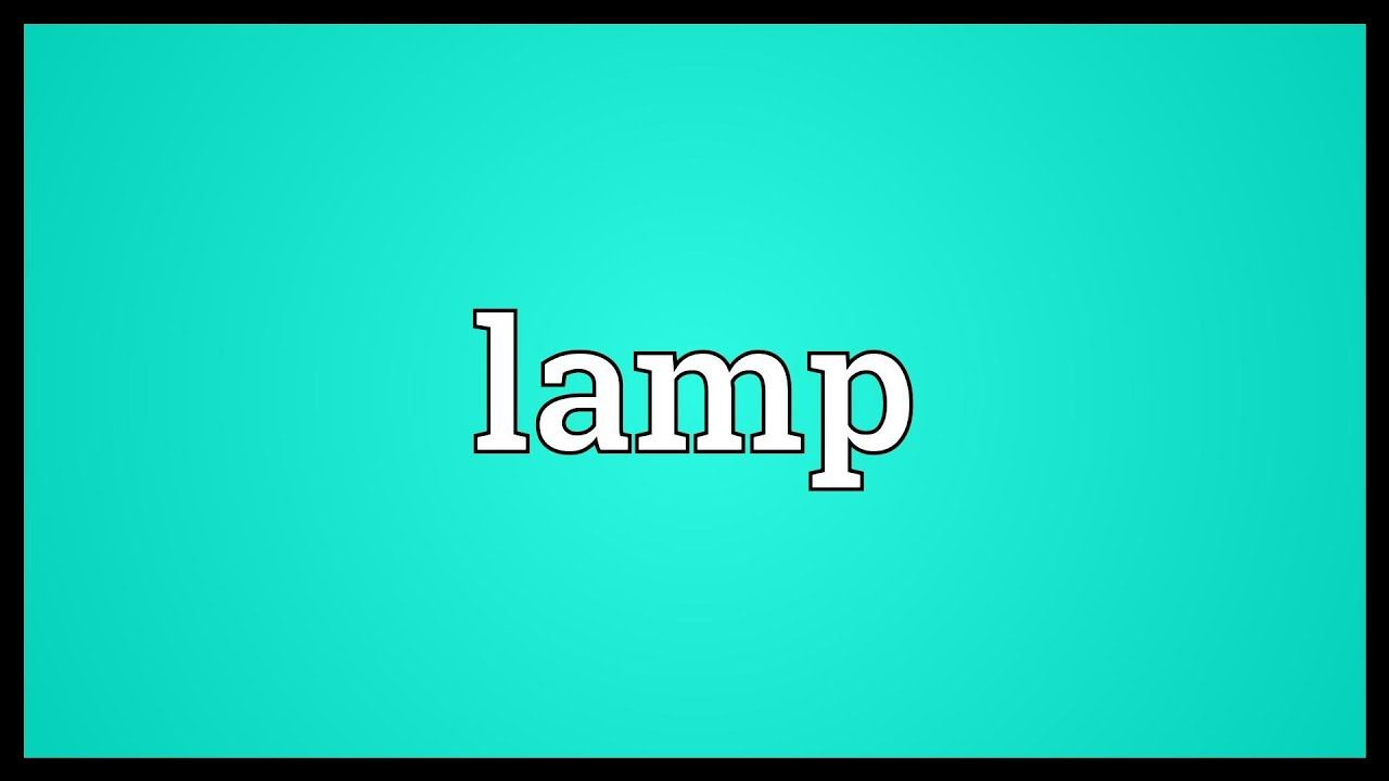 Lamp Meaning