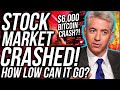 """BITCOIN PRICE DUMPS WITH STOCK MARKET  BTC IS """"LIKELY"""" TO BECOME THE WORLD RESERVE CURRENCY?"""