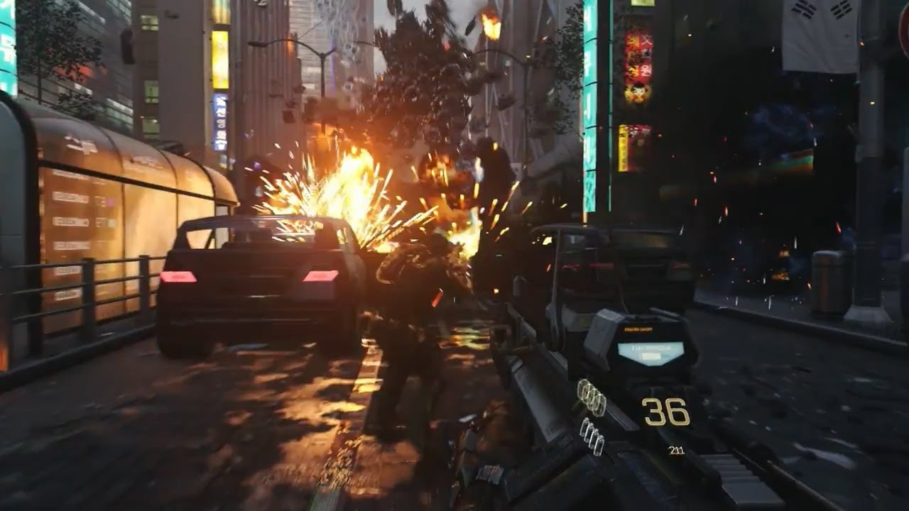 Call Of Duty Advanced Warfare Gameplay Xbox One Gameplay Youtube