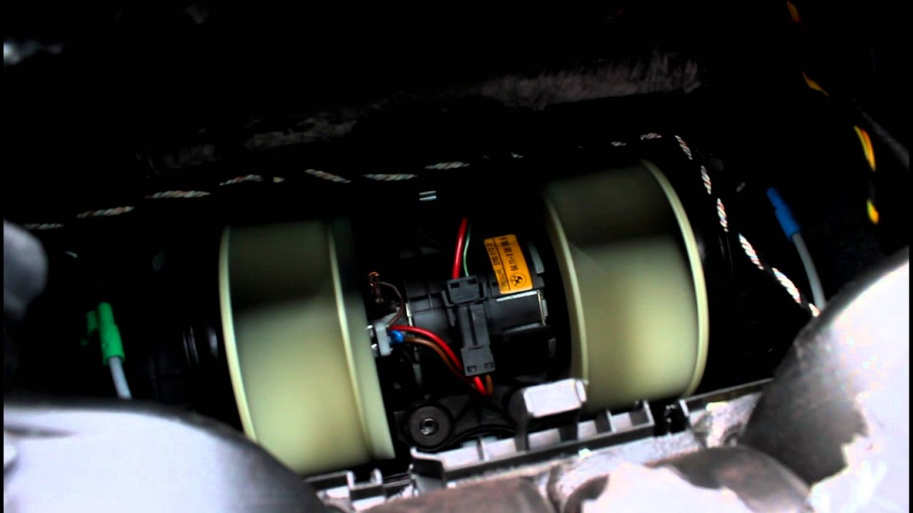 2013 Range Rover Fuse Box Range Rover L322 Blower Motor Fan In Action After Fitting