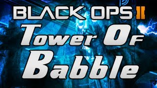 "Black Ops 2 ZOMBIES ""Tranzit"" - ""TOWER OF BABBLE"" - Easter Egg Achievement Guide! (Richtofen)"