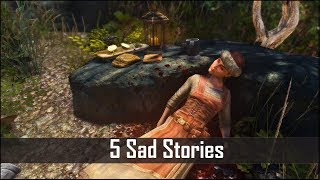 Skyrim: 5 Tragic and Hidden Stories That you May have Missed - Elder Scrolls 5 Secrets