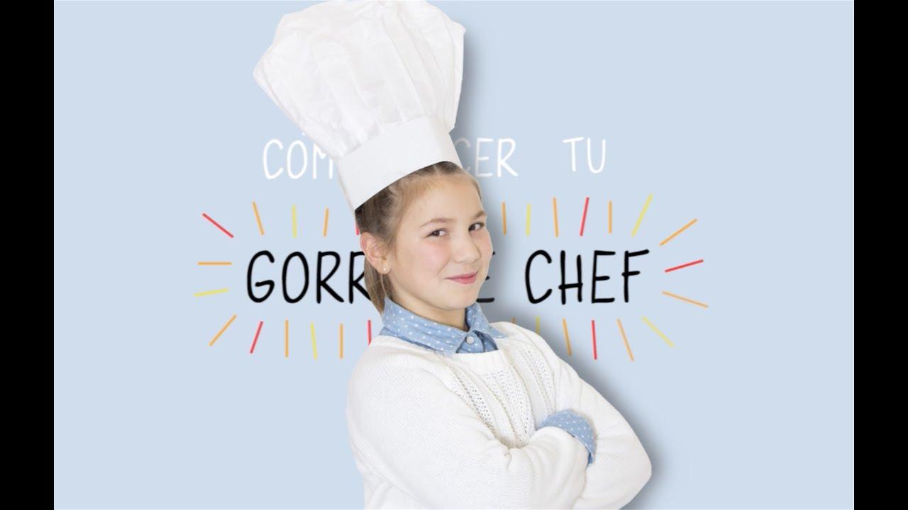 fd3cda39f7e Como hacer un gorro de chef - iki-hack 2 - YouTube