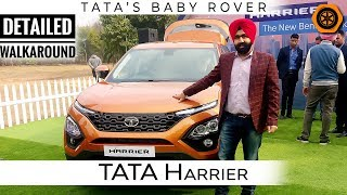 Tata Harrier Detailed Walkaround | Above All | Born of Pedigree | Spare Wheel