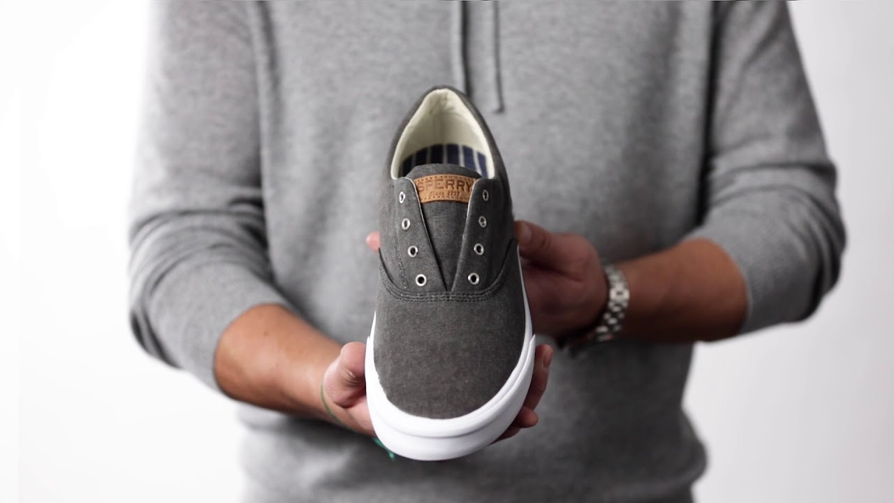 920fbbbef6eb Behind the Design  Sperry Striper II CVO Sneaker - YouTube