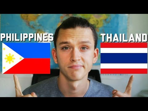Travel Philippines vs.Thailand ? / BEST TRAVEL DESTINATION 2018 ?