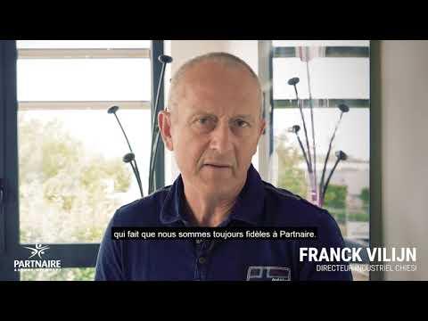 Les témoignages Partnaire - Franck Vilijn de l'entreprise Chiesi