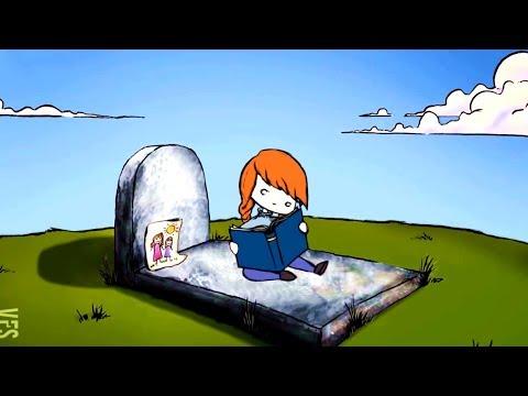 小女孩在墓地里等妈妈,可结局真让人心疼!一部反思人性的感人短片