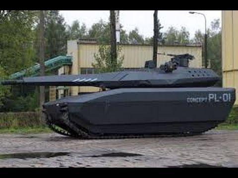 Obrum PL 01 ADVANCED STEALTH Main Battle Tank Concept Prototype
