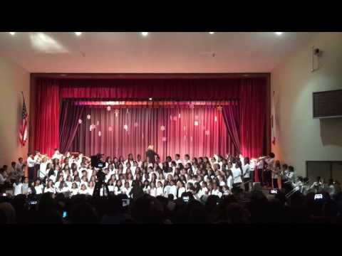 Palms Middle School Christmas Concert