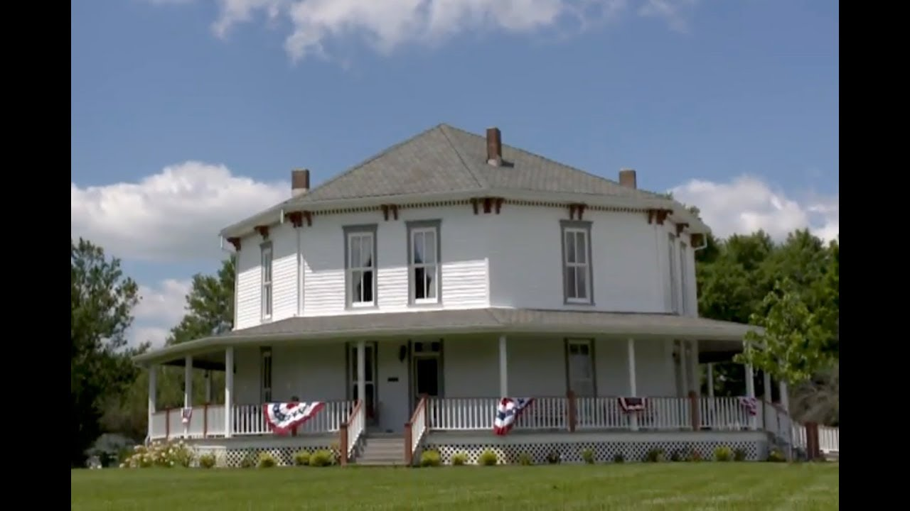 the jane ross reeves octagon house youtube