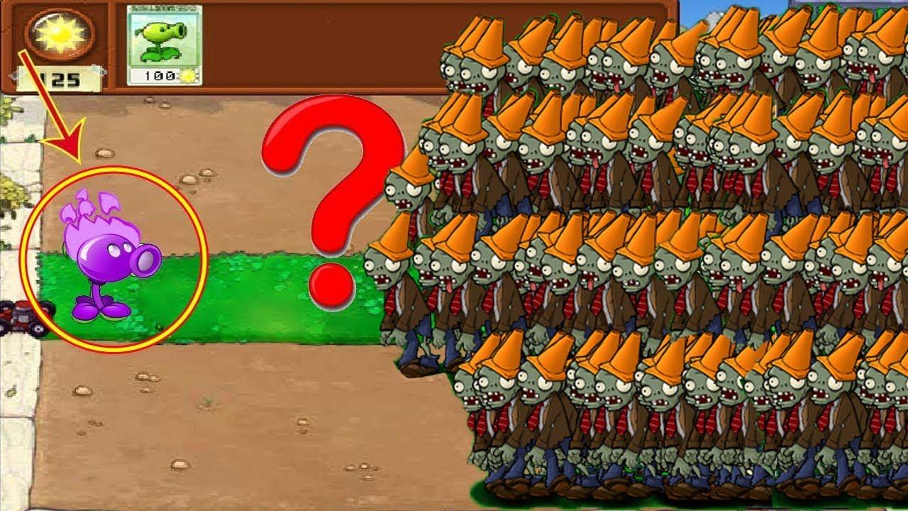 Plants vs Zombies Hak - Cactus vs 9999 Balloon Zombie vs Dr. Zomboss