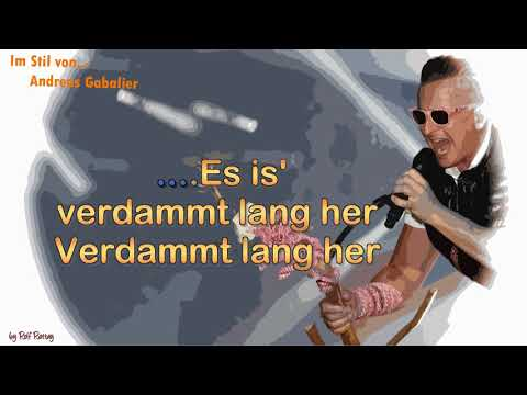 Andreas Gabalier - Verdammt lang her - Cover