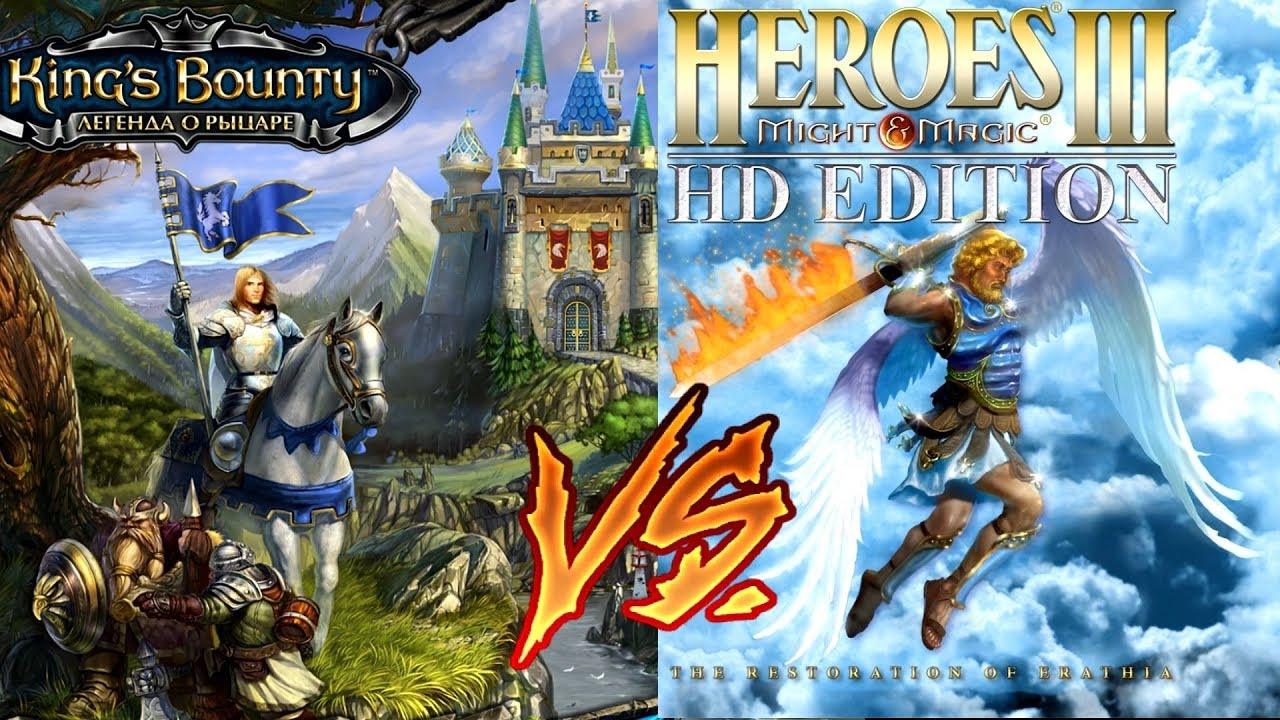 King's Bounty: The Legend VS Heroes of Might & Magic III