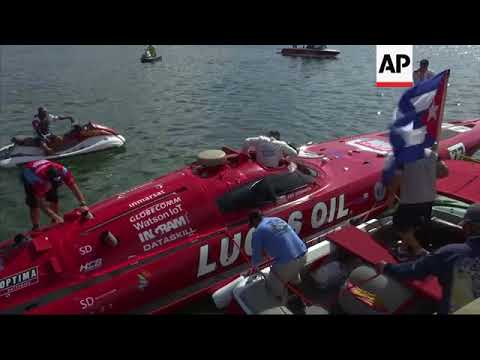 Crew claims Florida to Cuba powerboat record