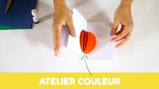 """Atelier """"Couleur"""" autour du travail de Florence Reymond"""