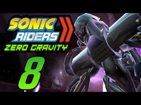 Let´s Play Sonic Riders Zero Gravity German Part 8 Roboanführer Showdown