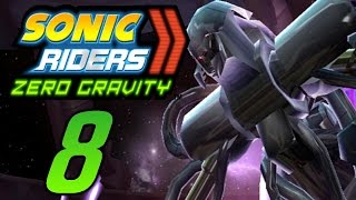 Let´s Play Sonic Riders Zero Gravity German Part 8 Roboanführer Showdown