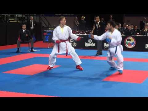 Bosnia & Herzegovina vs Maroc Male Kumite - 2014 World Karate Championships