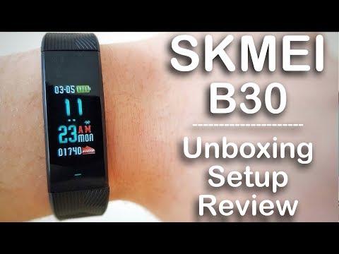 Skmei B30 Smartband. Unboxing, Setup, Review.