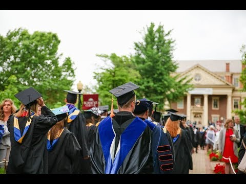Roanoke College Commencement 2018