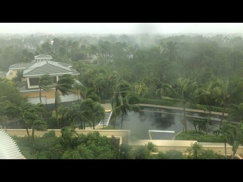 HURRICANE IRMA - Naples Florida (5 Hour Progression)