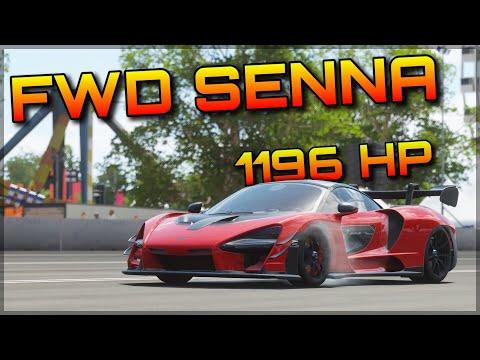 Forza Horizon 4 | Offroading & Dragracing a FWD McLaren Senna!