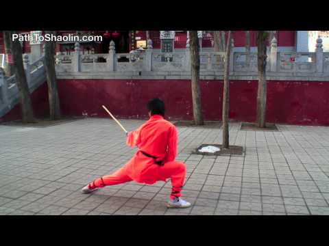 Yin Shou Gun (Shaolin Stick Fighting)