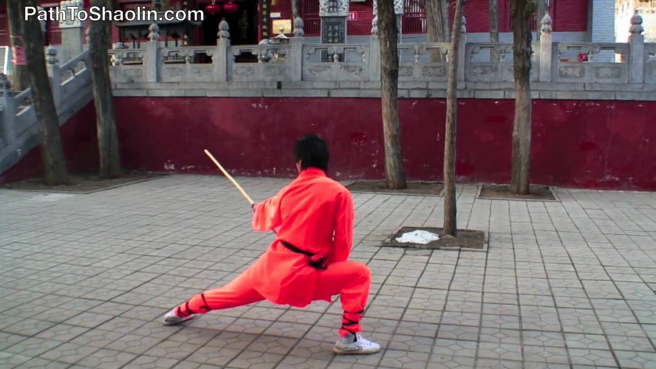 Yin Shou Gun Shaolin Stick Fighting Youtube