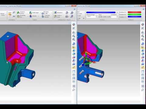 WorkXPlore 3D - ダイナミック断面表示