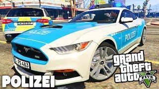 GTA 5 POLIZEI MOD - Krasse POLIZEI-SPORTWAGEN! - Deutsch - Grand Theft Auto V LSPDFR   LIVE