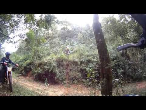 TRILHA COM MOTO DE TRIAL 01 06 2013 Travel Video