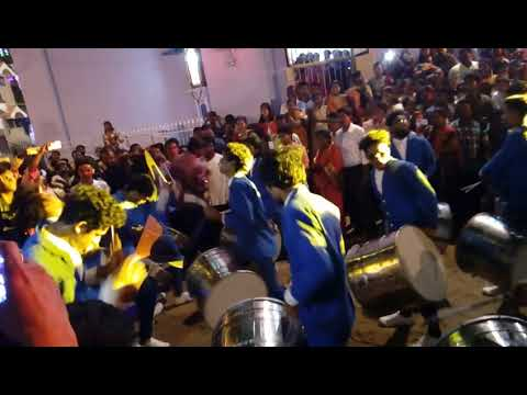 Christmas in tuticorin carols ols newyear thandiya band cool festival