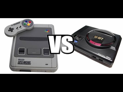 Super Nintendo Vs Sega Mega Drive Genesis Hd Youtube