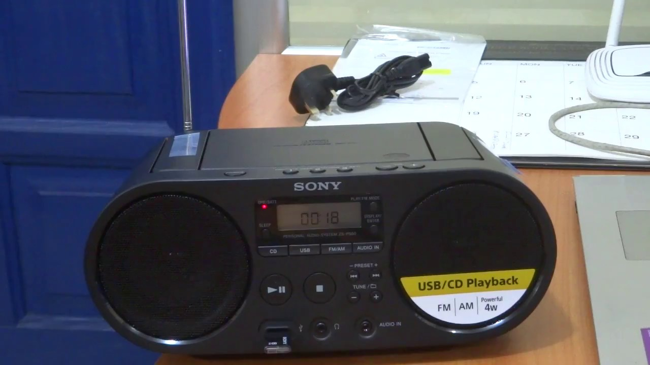 ab870fc732ff02 UNBOXING SONY AUDIO SYSTEM ZS-PS50 - YouTube