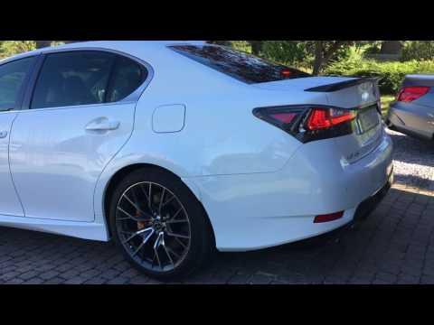 Lexus GS F 5.0L V8 - Cold start