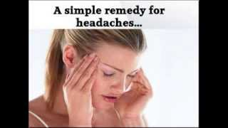 Quick Tip: Simple/Inexpensive Remedy for Headaches & Mild Muscle Pain