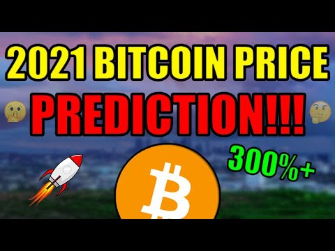 My 2021 Bitcoin Price Prediction! I'm HIGHLY Confident This Will Happen… Cryptocurrency News 🎉