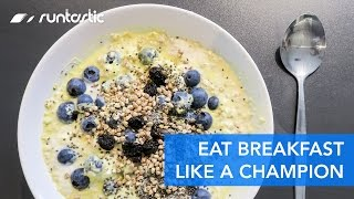 Breakfast of Champions: Fuel up with This Hearty, Healthy Breakfast