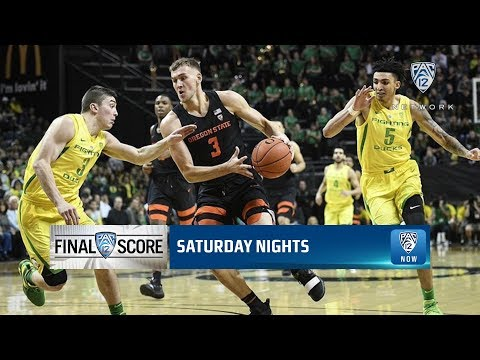 Oregon State Beavers - 351st Civil War won by Beavers 77-72 in Eugene!