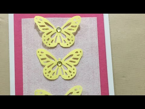 DIY QUICK CARDS WITH PAPER PUNCH