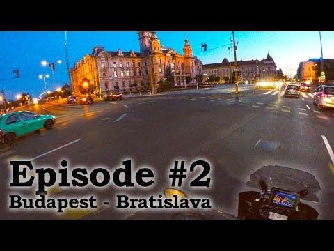 European Motorcycle Adventure - Episode 2 - Bratislava, Slovakia