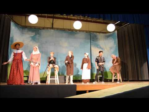 Cincinnati Waldorf School 7th Grade Canterbury Tales
