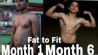 Body Transformation of 6 month| Calisthenics